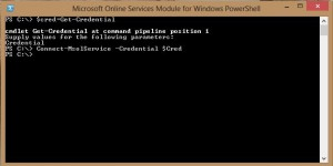 Microsoft Online Services Module for Windows Powershell