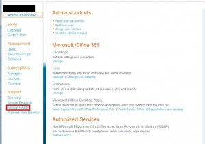 Office 365 Health