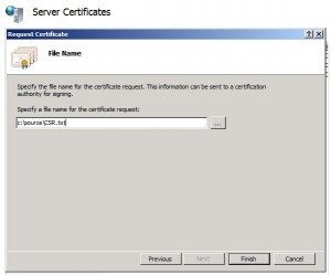 Certificate for Office 365