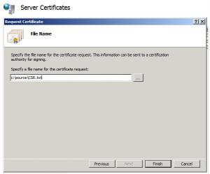 Certificate Request 3