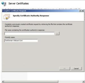 Certificate Request 4