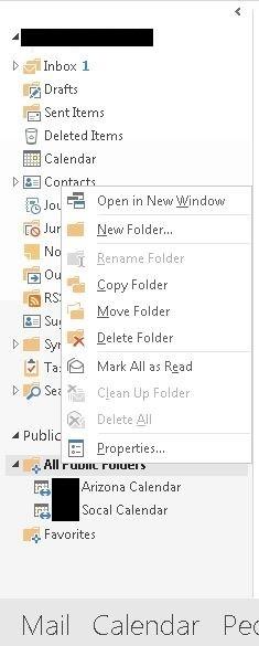 Office 365 Public Folders
